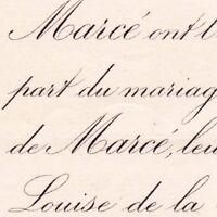 Henri De Marcé Vaumenaize Thizay Indre-et-Loire 1887 Louise De La Broise
