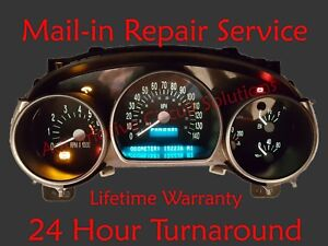 CHEVY SSR Speedometer Instrument Cluster Gauge and Display REPAIR + LED Upgrade