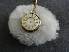 Swiss Made Norbee Vintage Wind Up Necklace Pendant Watch