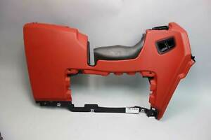2009-2016 BMW E89 Z4 Roadster Left Driver's Lower Dash Knee Bolster Panel Red OE