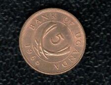 UGANDA 5 CENTS 1966