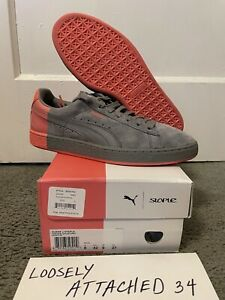Puma Suede x Staple - Pigeon, USED (9.5/10), Size 9, 361617 03