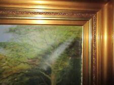***** Antikes Ölbild m. wunderschönen antiken Rahmen, 112 x 80 cm, ORIGINAL*****