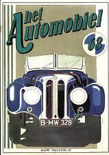 1985 HET AUTOMOBIEL MAGAZIN 63 BMW 328 1939 CITROEN SM 1970 FORD THUNDERBIRD