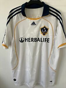 la galaxy football shirt Beckham 23 Size Medium Excellent Condition