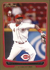 2012 Bowman Baseball Gold #145 Brandon Phillips Cincinnati Reds