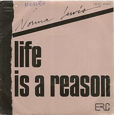 "45 TOURS / 7"" PROMO--NORMA LEWIS-LIFE IS A REASON / WE'RE GONNA MAKE IT TOGETHER"