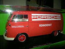 1:18 VW T1 Bus 1963 Porsche Renndienst in OVP ! Fuchsfelgen -UMBAU !