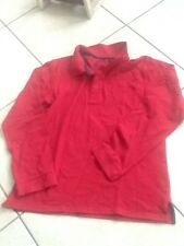 Polo Rouge Manches Longues 12 Ans