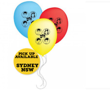 The Wiggles Latex Balloons 30cm Birthday Party Supplies Decorations Pack of 6