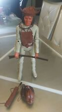 Marx Johnny West Geronimo Action Figure vtg 1957 Fort Apache Fighters Indian