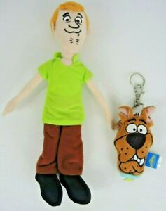 Scooby Doo purse keyring Shaggy Plush soft Toy Warner Bros Hanna Barbera