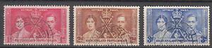 Bechuanaland - 1937 Coronation Sc# 121/123 (7679)