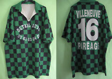 Maillot Rugby villeneuve pareage Vintage Porté #16 Damier vert noir - XXL