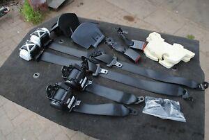BMW 4 SERIES M4 F82 F34 F33 F32 Complete Black Seatbelt Seat Belt Set