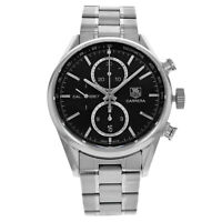 TAG Heuer Carrera CAR2110.BA0720 Black Dial Stainless Steel Automatic Mens Watch