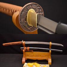 KO-KATANA JAPANESE SAMURAI DRAGON SWORD 8196 layers Dasmacus Oil Quenched Blade