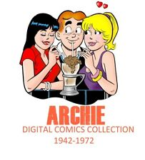 ARCHIE Comics collection 1942 to 1972 -Over 225 Digital Comics cbr Rare DVDs DL