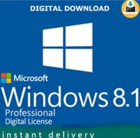 Microsoft Windows 8.1 Pro 32 64 BIT Genuine License Key Product +download link