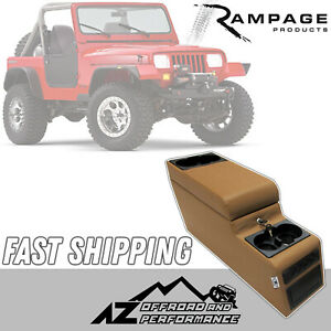 Rampage Locking Center Console -Spice for 76-95 Jeep CJ-7 & Wrangler YJ 31517