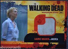 Walking Dead Season 1 M8 DIRTY FLAP SEAM VARIANT Andrea Costume Trading Card