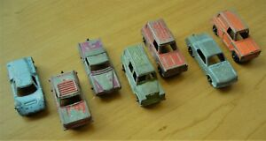 Tootsie toy Metal Cars and Trucks Set of Seven