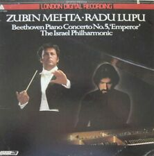 RADU LUPU - ISRAEL PHILHARMONIC ORCHESTRA - ZUBIN MEHTA - BEETHOVEN - LP