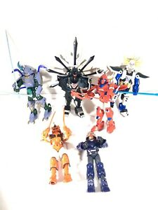 RONIN WARRIORS Lot Of 6 Samurai Figures Playmates Vintage Ryo Hariel Talpa Kento