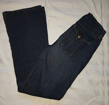 Ladies Size 6 Lift Tuck Jeans Blue Bootleg- NYDJ NOT YOUR DAUGHTERS JEANS