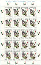 Francobolli della Repubblica italiana, tema calcio