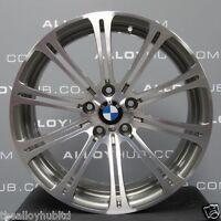 """GENUINE OEM BMW M3 19""""INCH E90/91/92/93 STYLE 220M GREY/POLISHED ALLOY WHEELS X4"""