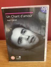Un Chant d'amour : BFI DVD : Jean Genet