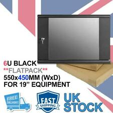 More details for 6u 450 flat pack data cabinet wall rack for patch panel, switch,pdu, networking