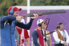 Peter Wilson Firmada A Mano Gran Bretaña Londres 2012 Olimpiadas 6x4 Foto 1.