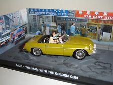 007 JAMES BOND THE MAN WITH THE GOLDEN GUN MGB 1/43 Die Cast