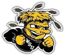 "Wichita State Shockers College NCAA Car Bumper Vinyl Sticker Decal 5""X4"""