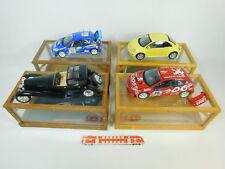 BP499-10# 4x Solido/Maisto 1:18 Modell: Peugeot 206+Bugatti+VW Beetle, 2. Wahl