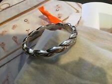 New Amazing Simon Sebbag Sterling Silver Bangle Bracelet.