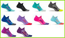 15 Pairs M Feetures Elite  Light Cushion No Show Tab Black Viola Cobalt socks