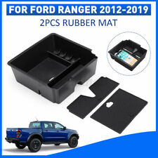 Fits For Ford Ranger PX3 PX2 12-19 Center Console Armrest Storage Box Tray Case