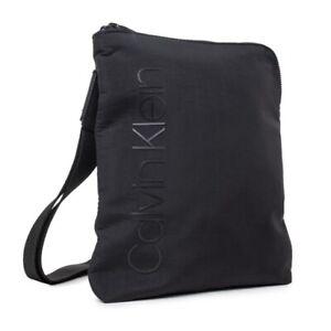 CALVIN KLEIN Straped Flat Crossover Messenger Bag K50K503780 001