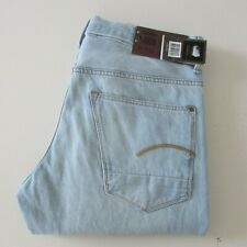 G Star Radar Straight Tapered Jeans Mens Sz W31, W32, W34, W36 Light Blue Denim