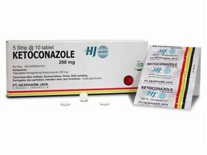 New !! ket0c0nazole tablets antifungal 200mg 50 tablets