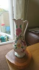 Old Foley James Kent  Bud Vase 'Chinese Rose' decorated with Birds & Blossom
