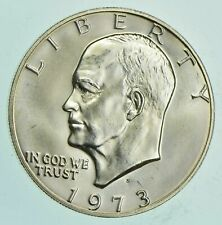 SPECIALLY MINTED S Mint Mark - 1973-S - 40% Eisenhower Silver Dollar - RARE