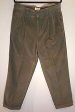 GAP Vintage Men's Wide Wale Corduroy Easy Fit Pants Khaki/Tan/Putty 35 X 30