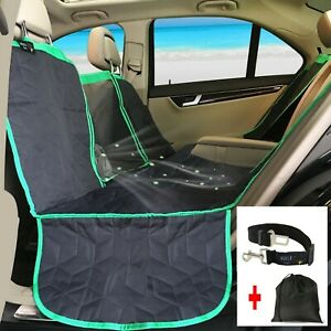 """""""New""""ARGA Car Seat Cover for dogs, Hammock style with Tote Bag,Pet Safety Belt"""
