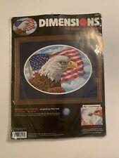 Dimensions Cross Stitch Freedom Eagle