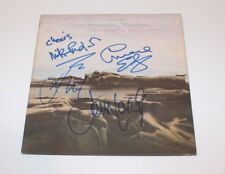 THE MOODY BLUES BAND SIGNED SEVENTH SOJOURN VINYL ALBUM RECORD x4 w/COA PROOF