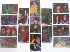 """COMX in COMICS phonecards-serie da 15""""ANASTASIA""""-TWENTIETH CENTURY FOX FILM CORP"""